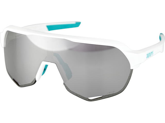 100% S2 Bora Hansgrohe Special Edition Lunettes, team white/hiper mirror